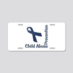 Child Abuse Prevention Aluminum License Plate